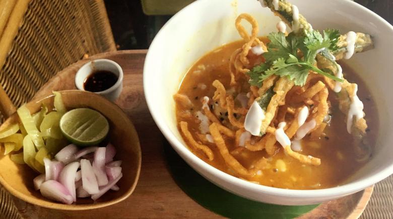 Sublime & traditional Thai curry