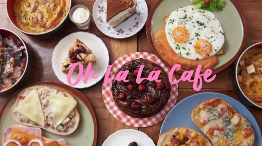 """Great English breakfast at """"Oh La La Cafe"""" in Bangkok's On Nut area"""